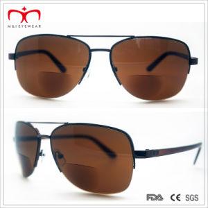Hot Sales Bifocal Lens Metal Sunglasses (60060) pictures & photos