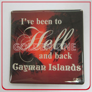 Personalised Full Color Printed Souvenir Metal Refrigerator Magnet pictures & photos