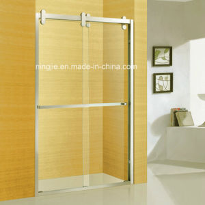Hot Selling Hotel Bathroom Double Sliding Door Shower Screen (A-8953) pictures & photos