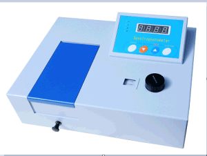 350nm to 1000nm Low Price UV Vis Spectrophotometer pictures & photos