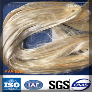 (high-tenacity high-modulus) Polyvinyl Alcohol Fiber Monofilament PVA Fibres pictures & photos