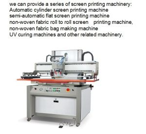 Feibao Brand Series 3/4 Automatic Screen Printing Machine Semi Automatic Screen