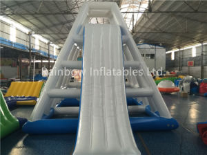 Chinese Kids Games Climbing Tower Slides Commercial Grade Giant Inflatable Water Slide for Adult for Sale pictures & photos