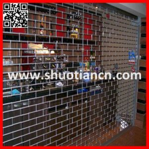 Metal Security Commercial Grill Rolling Shutters (ST-003) pictures & photos