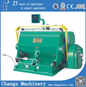 Ml Series Paper /Paperboard Die Cutting and Creasing Machine pictures & photos