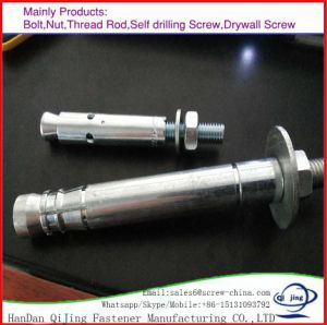 High Quality Hardware Fasteners Mechanical Anchor in White Zinc pictures & photos