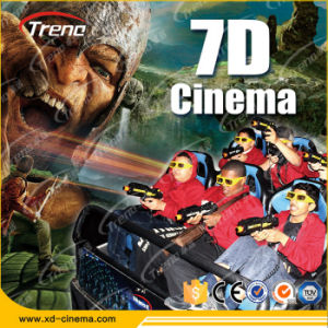 Hydraulic 7D Movie Theatre, Motion Chair 7D Cinema System pictures & photos