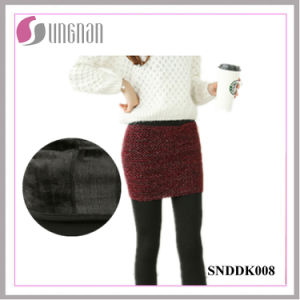 2015 Hot Sale Warm Fake Two-Piece Culottes Fleece Foot Leggings pictures & photos