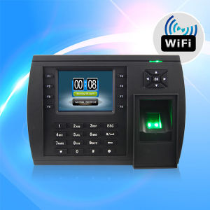 Biometric Fingerprint Time Recording with TCP/IP/ or USB or WiFi Module (TFT500/WiFi) pictures & photos