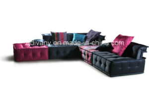 French Style Living Room Fabric Sofa Furniture (LS-103 & T-53B & PS-S0304) pictures & photos