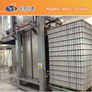 Hy-Filling Flavor Milk Can Depalletizer Machine pictures & photos