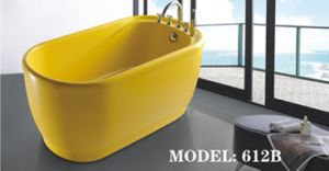 Freestanding Bathtub with Faucet (612) pictures & photos