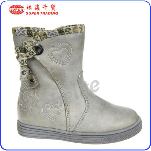 The Fashion Kids Withe Boots (b142137)