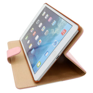 Famous Brand Bracket PU Cases for Mobile Phone Tablet Leather pictures & photos