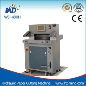 Professional Manufacturer Paper Cutter (WD-490H) Hydraulic Paper Cutting Machine pictures & photos
