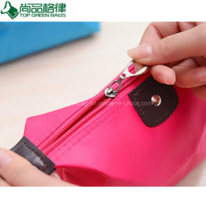 Travel Zipper Polyester Polyester Cosmetic Bag Custom Beauty Pouches pictures & photos