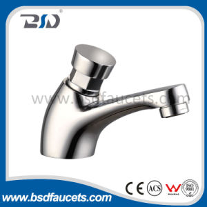 2016 New Design Time Delay Auto Stop Water Non Concussive Basin Taps pictures & photos