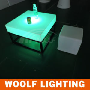 Hot Sale Illuminated Outdoor Plastic LED Furniture pictures & photos