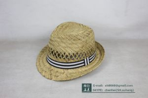 Trilby Straw Hat (OT-XH8015) pictures & photos