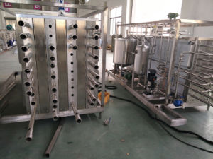 Fully Automatic Tube Type 3000L/H Tomato Juice Uht Sterilizing Machine pictures & photos