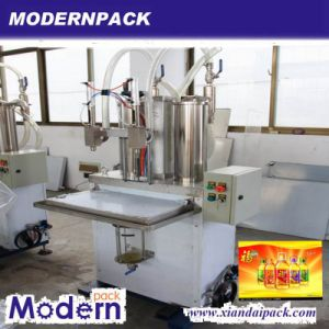 Semi-Automatic Oil Filling and Capping Machine pictures & photos
