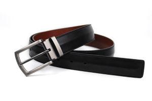 New Fashion Men Split Leather Belt (KB-1408003) pictures & photos