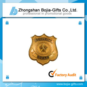 Security Lapel Pin Badge with Custom Design (BG-BA277)