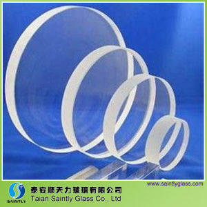 Various Size Low Iron Round Tempered Sight Glass pictures & photos