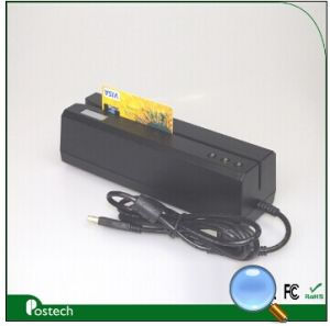 Msr606 Magnetic Card Reader Writer Compitable with Msr206 for All 1, 2 & 3 Tracks pictures & photos
