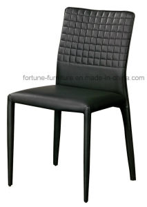 Black Faux Leather Upholstered Metel Dining Chair (I&D-80251) pictures & photos