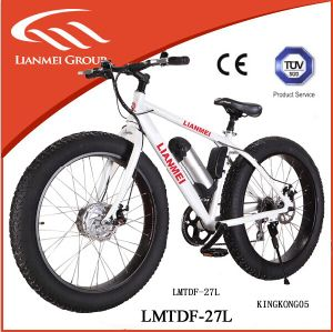 36V Lithium Battery 350W Motor Fat Mountain Bike pictures & photos