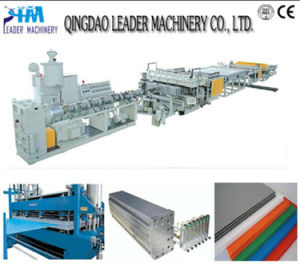Best Selling Plastic PC Sheet Extrusion Equipment pictures & photos