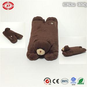 Dark Brown Cute Soft Bear Plush Stuffed Rectangle Cushion Pillow pictures & photos