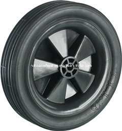 7inch Lawn Mower Solid Rubber Wheel-103