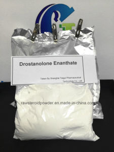 Natural Drostanolone Enanthate Raw Steroid Powders / Drolban Powders for Bodybuilding Cycle CAS 472-61-145 pictures & photos