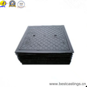 En124 D400 700X700mm Heavy Duty Ductile Iron Square Manhole Cover pictures & photos