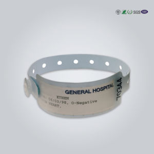 Professional Manufacture Cheap Concert Custom Cloth Tyvek Wristband pictures & photos
