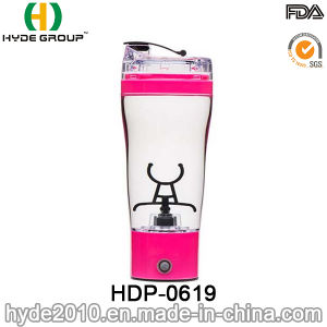 500ml Customized BPA Free Plastic Electric Protein Shaker Bottle pictures & photos