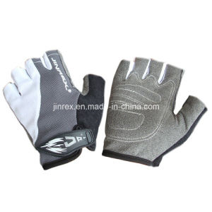 Popular Gym Bicycle Half Finger Cycling Padding Bike Sports Glove pictures & photos