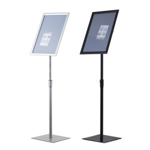 Heavy Steel Base Menu Floor Poster Stand pictures & photos