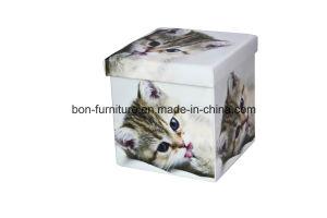 PVC Folding Storage Ottoman Toy Chest pictures & photos