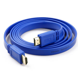 Flexible Flat HDMI Cable in 6 Color PVC Jacket
