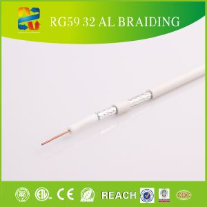 75ohm PVC RF Coaxial Cable Rg59 pictures & photos