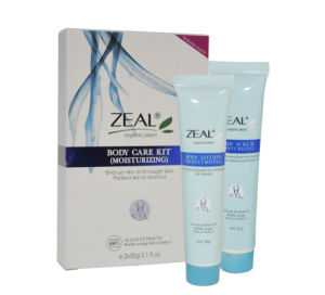 Zeal Skin Care Moisturizing Body Scrub & Lotion 30ml+30ml pictures & photos