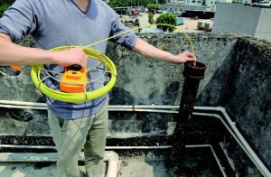 Push Rod Drain Sewer Pipe Inspection Camera Plumbers Service pictures & photos