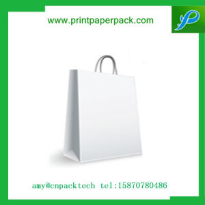 High Quanlity Whole Colored Paper Bag with Rigid Handle pictures & photos