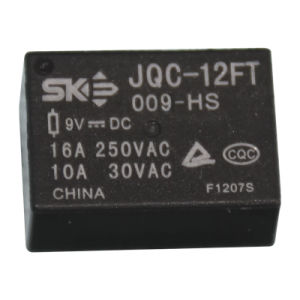 9V, 10A, 1form a Power Relay (JQC-12FT)