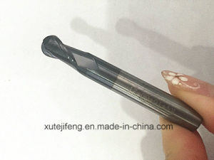 China Manufacture 2 Flute Tungsten Carbide Ball Nose End Mills pictures & photos