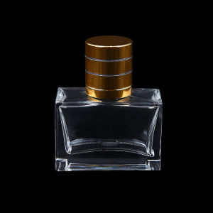 (Hz2101) 30ml Square Perfume Glass Bottle