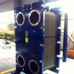 Glycol Cooling Stainless Steel Gasket Plate Heat Exchanger for Heat Pump Systems pictures & photos